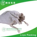 Eco personnalisé petite coulisse gadget sympa blanc petit sac de coton