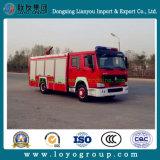 Camion dei vigili del fuoco Emergency di HOWO 4X2 da vendere