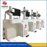 금속을%s Barcode 인쇄 기계를 위한 중국 섬유 Laser 표하기 그리고 조각 기계