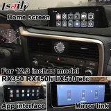 Lexus Ls460 Ls600h 2013-2017 영상 공용영역 etc.를 위한 인조 인간 6.0 GPS 항해 체계