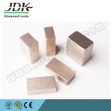 Segmentos bajos de cobre del diamante del emparedado para el borde y el corte por bloques de mármol