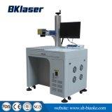 Marcação a Laser de fibra de alta velocidade da máquina para preço de matéria plástica