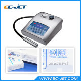 Impresora de inyección de tinta de la fecha de vencimiento del código de barras del código de Digitaces Qr (EC330H)