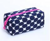 Sac portatif de produits de beauté de vente en gros de sac de main de grande capacité d'impression de mode