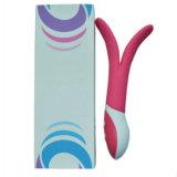 Silicone impermeável G -Massajador no local o brinquedo sexual Multivelocidade Motores Duplos Vibradores para Mulheres