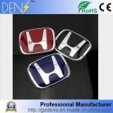 Logotipo acrílico do emblema de Jdm do emblema do carro vermelho para Honda