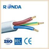 3 sqmm flexível do cabo elétrico 4 do núcleo