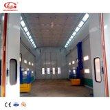 Cabine van de Nevel van de Vrachtwagen van de Verf van Gl de Industriële Gebruikte met Beweegbare Manlift