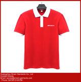 주문 로고 (P91)를 가진 2017의 최신 판매 편리한 고리 스포츠 t-셔츠