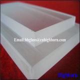 De lamelle de verre de processus de quartz de silice d'échelle de résistance de Corrosison davantage
