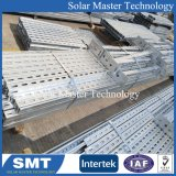 Солнечная панель кронштейны для соединения на массу и приложения на крыше