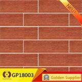 Tegel van de Vloer van het Porselein van Inkjet van de Prijs van de fabriek 3D Houten (GP18003)