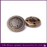 Kleid-Zubehör-Metalltaste, die für Umhüllung /Clothing /Coat näht