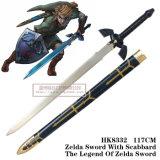 La legenda del nero di 1:1 delle spade di film delle spade di Zelda