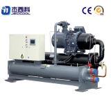 Réfrigérateur refroidi à l'eau industriel de vis de 65 tonnes/refroidisseur d'eau