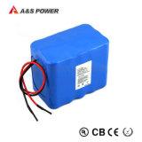 IEC62133 11,1V 4.4AH Batería de litio para Solar LED