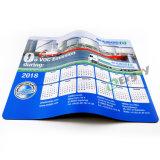 Kundenspezifischer Kalender-fördernde Gummimausunterlage der Qualitäts-2018
