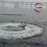 6.4 Bateau gonflable de côte de fibre de verre de la Chine de mètres