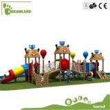 Используемая коммерчески напольная спортивная площадка для комплектов пластмассы школы малышей