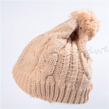 주문 선전용 모자와 베레모 모자에 의하여 뜨개질을 하는 Balaclavas 겨울 모자