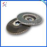 섬유유리 격판덮개를 가진 쉽게 적재된 소형 플랩 디스크
