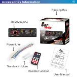 エムピー・スリー可聴周波Bluetoothが付いている固定パネル車のアクセサリおよびFM USB TFのカードプレーヤー