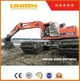Bon prix d'excavatrice amphibie de Doosan Dh215-7 avec le ponton de train d'atterrissage