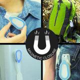 Blinkendes LED Klipp-Licht Sicherheits-des Hand-Freien Silikon-flexiblen Magnet-für Verkauf