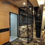 Les panneaux de paroi extérieure des panneaux métalliques décoratifs cloison modulaire