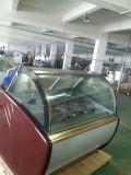 Caso di visualizzazione commerciale della vetrina del gelato di vendita calda (TK-16)