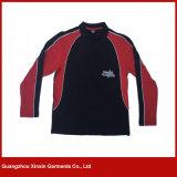 La mode faite sur commande d'affaires vêtx la chemise de polo des hommes de coton (P67)