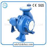 Estándar internacional industrial usar la bomba de agua centrífuga de la succión del final