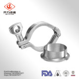 Hot Sale Pipe Fittings Clamped Ferrule Fitting Sanitary Stainless Steel