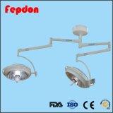 Ce Domo Shadowless ISO el doble de LED de funcionamiento (ZF720720 Lámpara LED).
