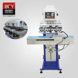 반 자동적인 4개의 색깔 셔틀 패드 인쇄 기계 En Y160/4s