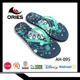 Moda cómodo Flip Flop zapatilla zapatos para mujer