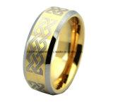 Высокое качество гальванизируя оптовую продажу фабрики кольца вольфрама лазера (TSTG001)