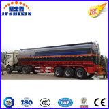 De carbón del acero 45m3 del combustible del petrolero acoplado semi