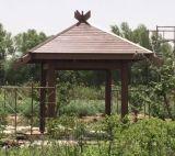 De houten Plastic Samengestelde Pergola/het Paviljoen van Hoeken WPC 4