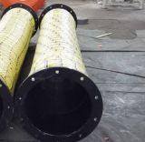 Marine et de décharge d'aspiration renforcé en acier flexible en caoutchouc