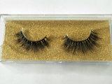 Venda por grosso Eyelash 3D Soft Martas artesanais natural do cabelo cílios