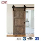 Portelli americani di legno solido di disegno che fanno scorrere il portello di granaio per l'hotel