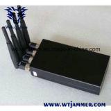 Beweglicher Handy-Signal-Hemmer der Leistungs-4W