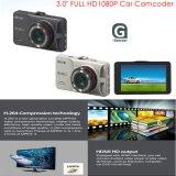 """최신 판매 3.0 """" Ntk96220를 가진 HD1080p 차 사진기; G 센서; WDR; 야간 시계 기능 DVR-2401"""