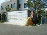 Porte en aluminium électrique résidentielle de garage d'obturateur de rouleau