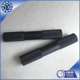 Soemcnc-Maschinen-Teil-Hersteller kundenspezifische schwarze Anoide Aluminiumbuchse
