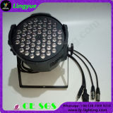 Piscina 54X3w PAR RGBW LED de iluminação de palco
