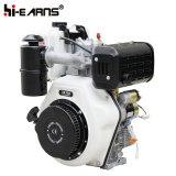 Двигатель дизеля с воздушным фильтром ванны масла вала Keyway (HR188FA)