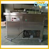 Pan plats en acier inoxydable commerciale Fry de la crème glacée pour la vente de la machine