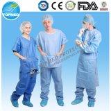 Procès remplaçables de docteur Nurse Uniform Gown Scrub de patient médical
